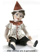 Statue Porcelain Figurine Pinocchio Nose Long Made By Hand In Italy