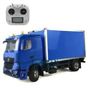 Hercules Rc 1/14 Diy Benz Tractor Container Delivery Truck Fs I6s Radio