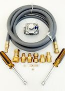Natural Gas Ng Conversion Kit For Weber Genesis Ii E-435/s-435 Front Controls