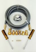 Natural Gas Ng Conversion Kit For Weber Genesis Ii Lx-440 Front Controls
