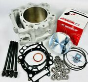Rhino Grizzly 660 Big Bore Kit 102 Cylinder 686 Complete Raptor Top End Rebuild