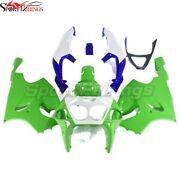 Green White Injection Fairing Kit For Kawasaki Zx7r 1996-2003 Body Cover+bolts
