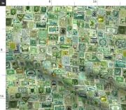 Stamp Collection Postage Stamp International Spoonflower Fabric By The Yard