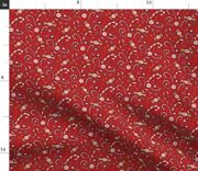 Christmas Decorations Confetti Christmas Candy Spoonflower Fabric By The Yard