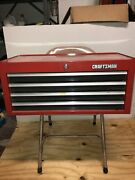 Vintage 1990's Craftsman 4 Drawer Middle Tool Box Mid Intermediate Chest Usa
