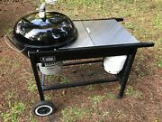 Weber 22 Performer Gas-assist Stainless Steel Charcoal Grill - First Generation