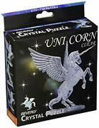 New Crystal Puzzle 3d Puzzle Unicorn Clear 43 Pieces Beverly Jp