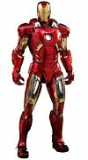Hot Toys Iron Man Mark Vii 7 Diecast Marvel Avengers 1/6 Scale Figure Fromjapan