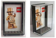 Lego Mr Gold Plastic Display Case Keep Your Minifigure Safe And Dust Free