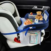 Kids Seat Tray Waterproof Car Table Baby/toddler Play Travel Snackdrawing Boys
