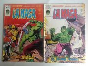 Incredible Hulk 180 +181 Spanish Editions. First Cameo And 1st App Wolverine.