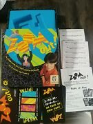 Zoom Out Card Game-gamewright-1999-fast-paced Kids Card Game-complete