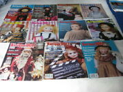 11 Antique Doll Collector Books/magazines 2001 February To December