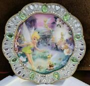Disney - Tinkerbell Limited Edition Collector Plates By Bradford Exchange