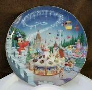 Disney 'fantasyland' Mickey Mouse Collector Plates From The Bradford Exchange