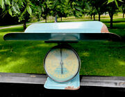 Vintage American Family Nursery Scale Baby Scale 30 Lb Nice Condition Pink Blue