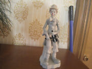 Duncan Royale Clown With Hat And Violin Figurine