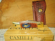 Vintage Camillus Usa 11 Ch11c 0121 Cat Fish Hunter Limited Signiture Edition