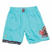 Mens Mitchell And Ness Nba Road Swingman Shorts Grizzlies