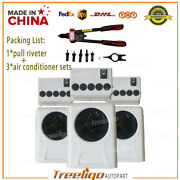 12v Ac Air Conditioner Kits Assembly White For Car Caravan Truck Rv Bus New