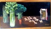 Original Whimsical Animal Crackers Painting Make For The Trees By Kholland...