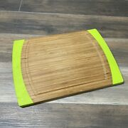 Berghoff Professional Bamboo And Silicone Chopping Cutting Board