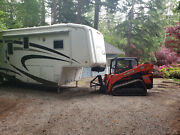 5th Wheel And Trailer Attachment For Skidsteer Steves Hitch