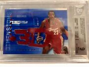 2003-04 Ud Triple Dimensions 3d Shooting Shirts Jersey Rc /499 Chrome Bgs 9