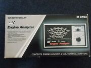 Vintage Sears Craftsman Engine Analyzer 282163 Owners Manual Complete Wbox And