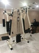 Weider Multi Gym Super Circuit Master Pec Deck Mens Health And Fitness Weights 1