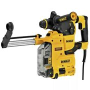 Dewalt 8.5 Amp 1 1/8 Corded Sds Plus Rotary Hammer Kit W/onboard Dust Extractor