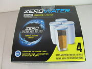 Zero Water System Replacement Filters 4 Pack 5 Stage Filter Model Zr-006
