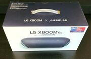 New Lg Xboom Go Pl7 With Meridian - Water Resistant Portable Bluetooth Speaker