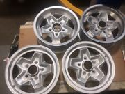 Refurbished Porsche Ats Wheels 6 And 7 X15 911 Cookie Cutter 911-361-023-44 Oem