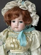 Antique German Armand Marseille 18andrdquo Doll Bisque Head Composition Body Mold 390