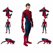 6 Inch Spider-man Homecoming Spiderman Action Figure Mafex Toy New