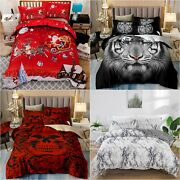 King/queen/twin Animal Quilt Cover Duvet Cover Set Bedding Set For Comforter New