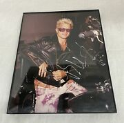 Collectible Billy Idol Hand Signed Autograph Photo Framed 10x8 - Msc Industries