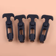 4pcs Rubber T-handle Hasp Draw Latch For Rv Tool Box Cooler Golf Cart Universal