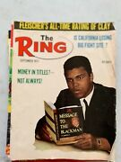 Vintage Ring/ Boxing Magazines Lot Of 7 Cassius Clay,frazier,60's /70's.