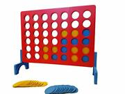 Four-in-a-row Outdoor Games For Family Fun Yard Game For Adults And Kids