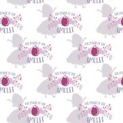 Disney Sofia The First Amulet White 100 Cotton Fabric By The Yard
