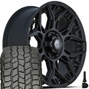 22 4play 4ps60 Wheel And 285/45r22 Discoverer At Tires Set For Chevy Gmc Ford Ram