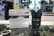 Tamron Sp 17-50mm F/2.8 Aspherical Di Ii Vc If Ld Xr Ef-s Mount Lens For Canon