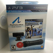 New Sony Playstation Move Bundle Ps3 Motion Control Game Camera Sports Champions