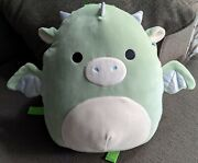 Squishmallows 12 Backpack Drew Mint Green Dragon Canadian Exclusive Bnwt Vhtf