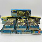Lot Of 10 Pieces Athearn Ho Trains In Miniature In Boxes Read
