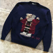 Polo By Bear Knit Sweater 1992 Vintage Super Rare /size M