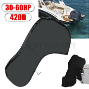 Motor Full Outboard Boat Engine Cover Scratch Resistant 30-60hp 420d Oxford Us