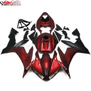 Red Plastic Fairing Kit For 2004-2006 Yamaha Yzf R1 Motorcycle Body Cover Work
